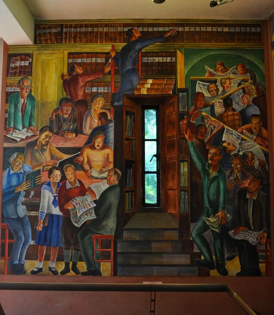 Stop by Coit Tower for a free look at their first floor murals painted in the 1930s.