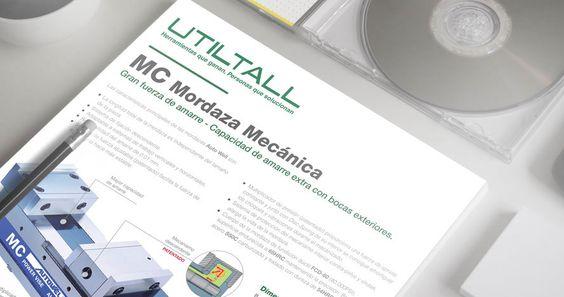 Documentación comercial para comunicar una campaña de promoción de UtilTall