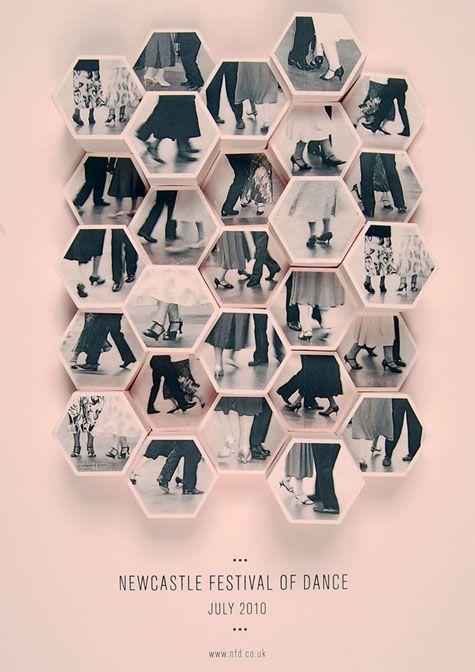 """Newcastle Festival of Dance"" | Designer: Amy Rodchester - http://www.amyrodchester.com"