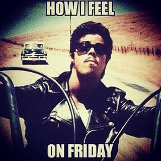 Except on rainy Fridays