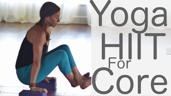 HIIT Yoga for Core is a calorie burning class! Thank you to Annie Heath and Kaitybubbly for requesting more HIIT. If you have yoga blocks, get two blocks. If...
