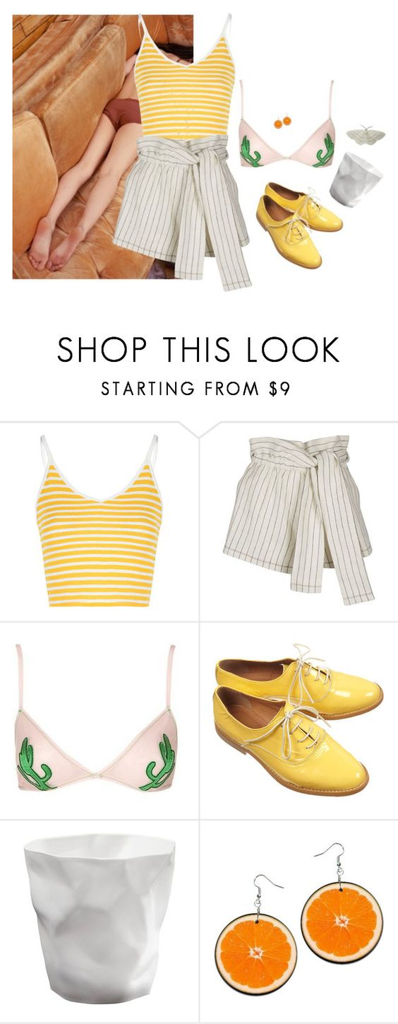 """""""I've been missing the Italian summer..."""" by kkakamaroosh ❤ liked on Polyvore featuring Glamorous, 3.1 Phillip Lim and Topshop"""
