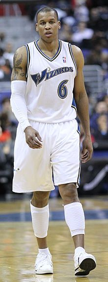 Maurice Evans, NBA plays for Washington Wizards