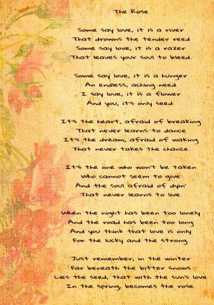 The Rose - Janis Joplin