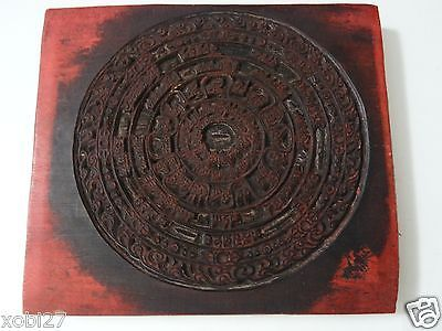 #Antique mongolian buddhist hand carved wooden block for an #amulet #print,  View more on the LINK: 	http://www.zeppy.io/product/gb/2/201591079172/