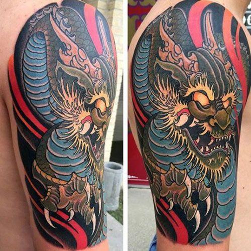 101 Best Dragon Tattoos For Men Cool Designs Ideas 2020 Guide Dragon Tattoos For Men Dragon Tattoo Dragon Tattoo Chest