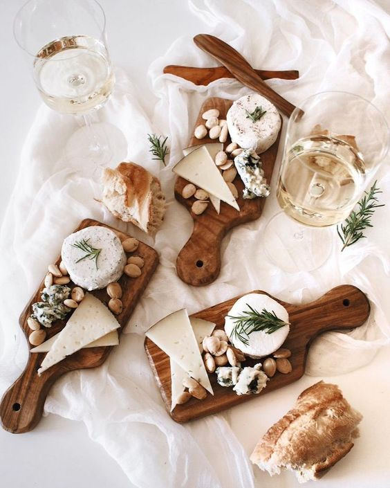 individual cheese boards: for those of us that are bad at sharing #Regram via @afabulousfete