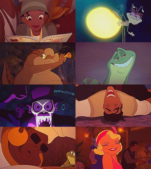 Characters in Princess and the Frog (There's two Naveen's)