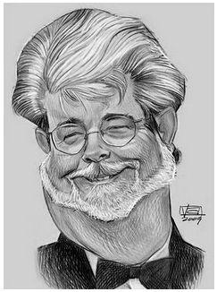 [ George Lucas ] - artist: Vincent Altamore -...