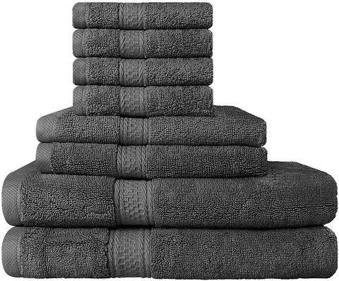 8 Piece Premium Hotel Quality Super Soft Highly Absorbent