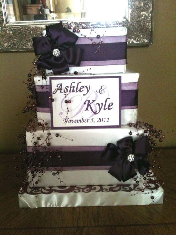 Ashley Card Box for Wedding Reception by InspiredEvents on Etsy – Box for Cards at Wedding Reception