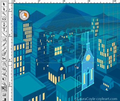 how to close perspective grid in illustrator