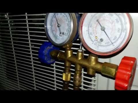 Como Hacer Vacio A Un Aire Acondicionado Split Refrigeracion Y Aire Acondicionado Aire Acondicionado Acondicionado