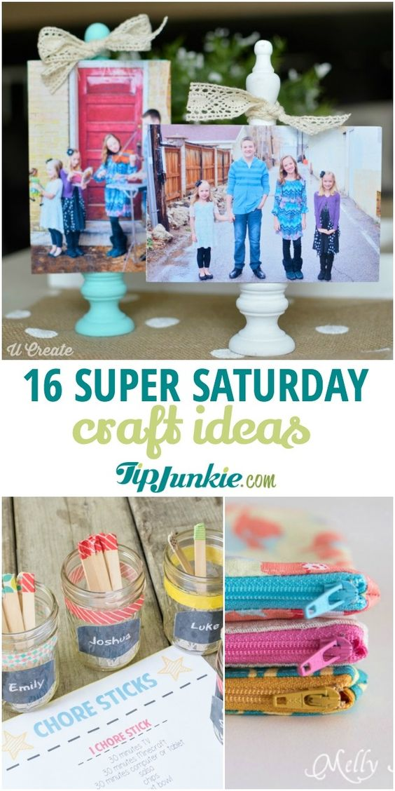 16 Cheap Super Saturday Craft Ideas - Tip Junkie
