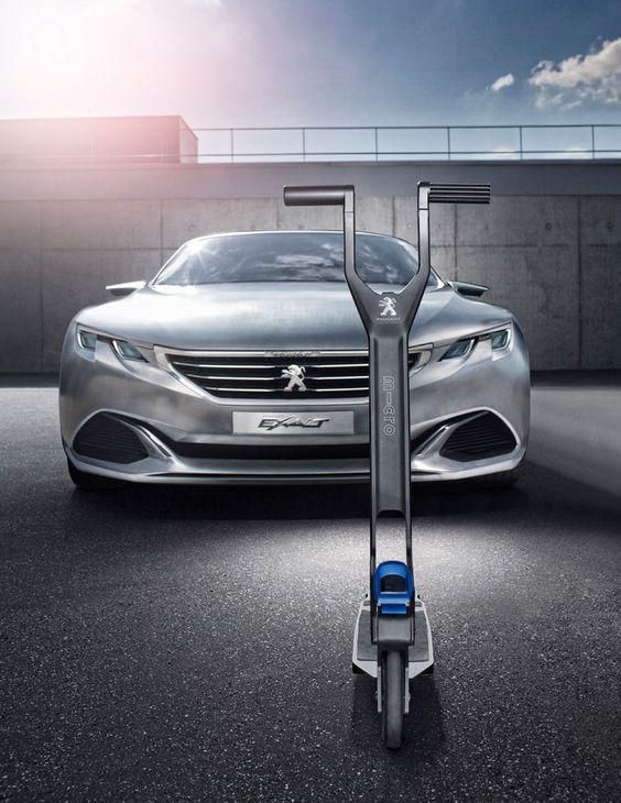 Peugeot : une trottinette e-Kick dans le coffre