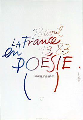 23 avril 1983. La France en poésie. Ministère de la Culture