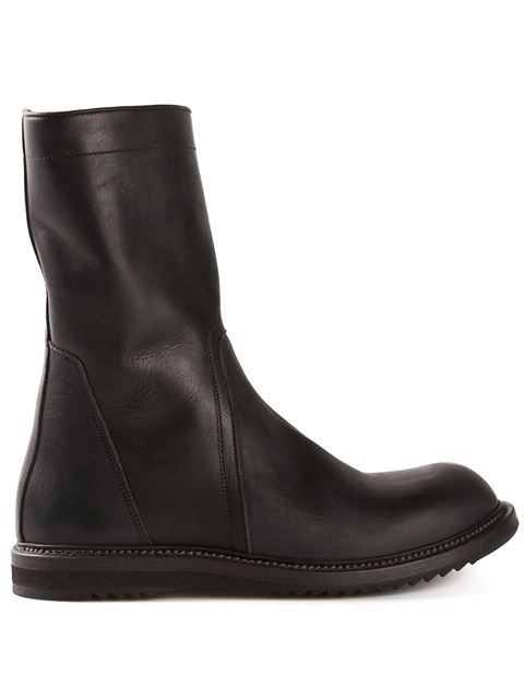 Shop Rick Owens biker boots in Traffic Men from the world's best independent boutiques at farfetch.com. Over 1000 designers from 60 boutiques in one website.