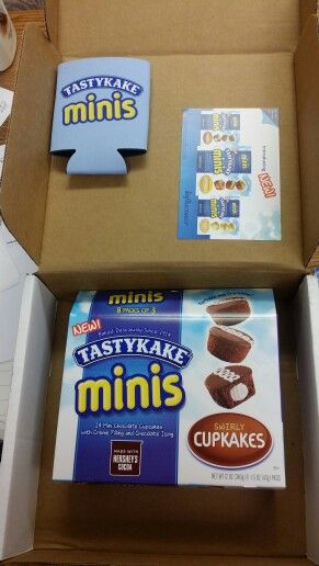 Yessss loving my #TastyKakeMiniWins #VoxBox from Influenster