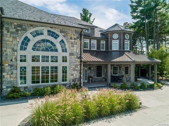 3686 Woodland Dr Metamora Mi 48455 Metamora House Exterior Lake House