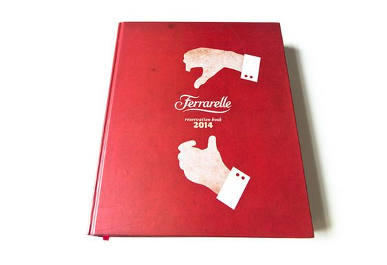 Ferrarelle / reservation book 2014 on Behance