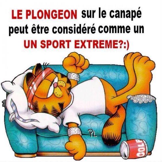 Pingl par a r sur humour pinterest sports et plein air et articles - Sur le canape ou dans le canape ...