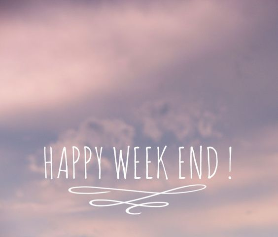 Happy Week-end! #weekend #type #font: