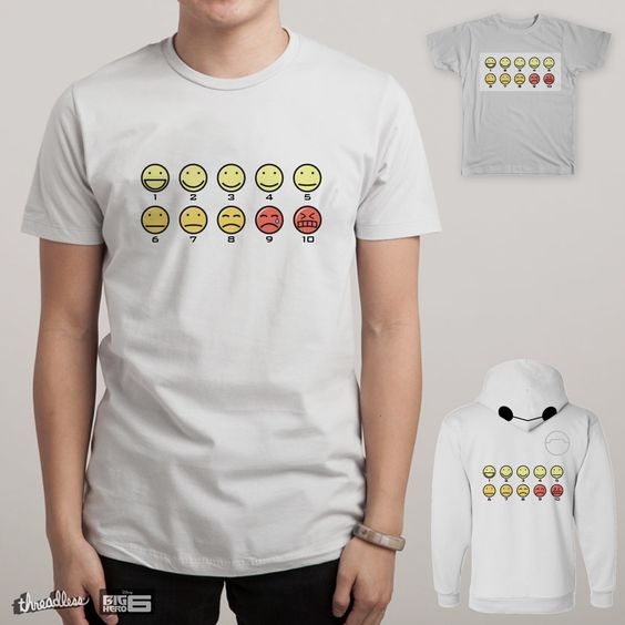 How Would Your Rate Your Pain? Now for sale Big Hero 6, Baymax, T-shirt, Design, Disney, Marvel: