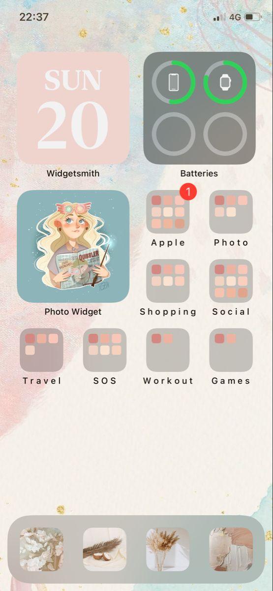 Ios 14 Iphone Background Ideas Ios App Iphone Homescreen Iphone App Layout