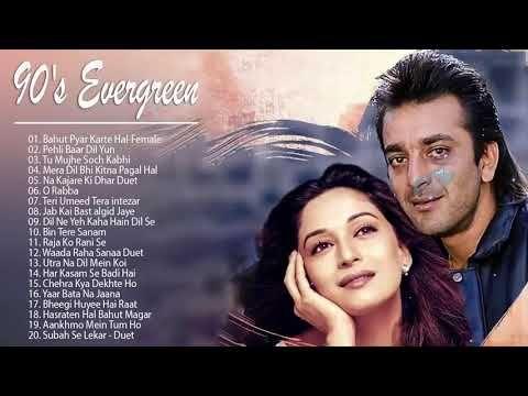 Evergreen Melodies 90 S Romantic Love Songs Superhit Hindi Songs Udit Narayan Alka Yagnik Youtube Love Songs Hindi Old Bollywood Songs Song Hindi