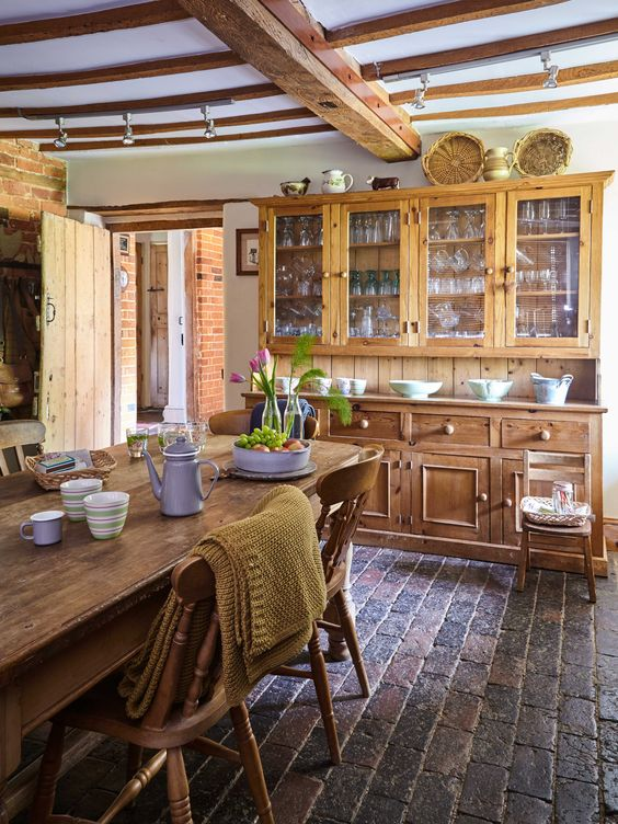Explore this stunning Grade II Listed Farmhouse | Real Homes