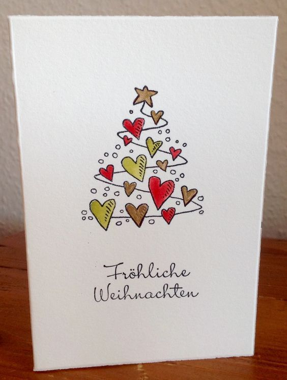 Fantastic Photos Easy Diy Christmas Card Ideas You Ll Want To Send This Season Ideas The I In 2020 Christmas Card Crafts Diy Christmas Cards Watercolor Christmas Cards