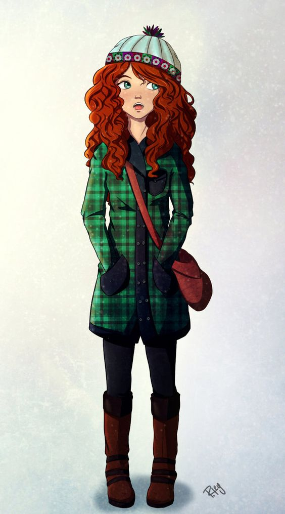 21st Century Merida by Blueberries-in-July.deviantart.com on @DeviantArt: