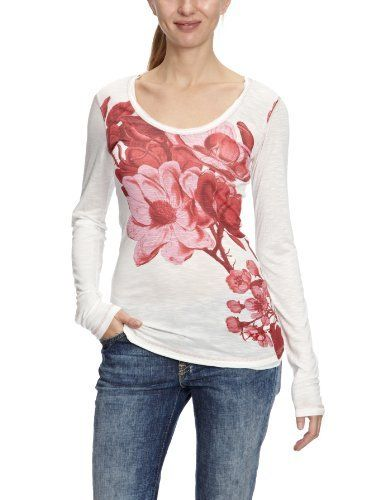 Desigual Lara Patterned Women's T-Shirt: Patterned Women S, Casual Wear, Shirt Hielo, Lara Patterned