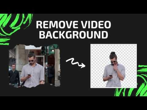Remove Background Di Unscreen Com Without Green Screen Youtube Greenscreen How To Remove Video Background