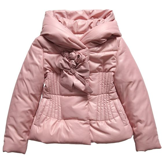 Girls Pink Padded Jacket - Coats &amp Jackets - Girl | Childrensalon