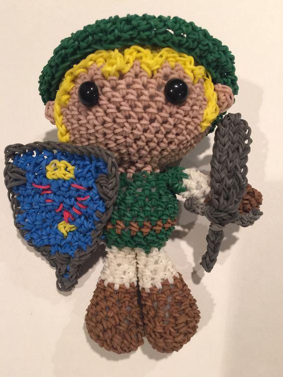 Amigurumi Lalylala : Link from Legend of Zelda Loomigurumi Amigurumi Rainbow ...