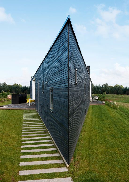 Would you live in this Danish home? YES.