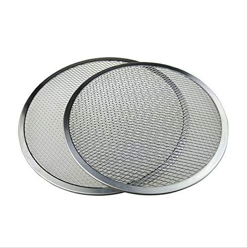 Home  Cookware Kitchen Flat Plate Pan Pizza Screen Baking Tray Aluminium Mesh