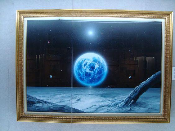 beyforart: Mondkunst aus Cape Canaveral