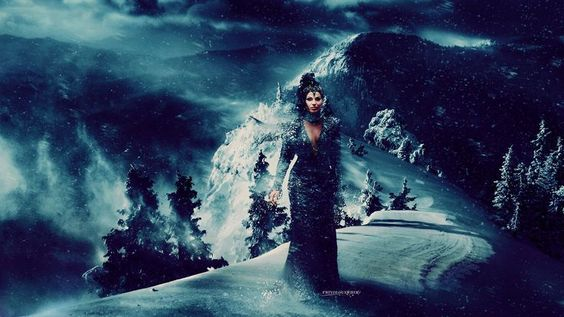 Winter/ Christmas greetings/ wallpaper from Evil Queen ! | Evil ...