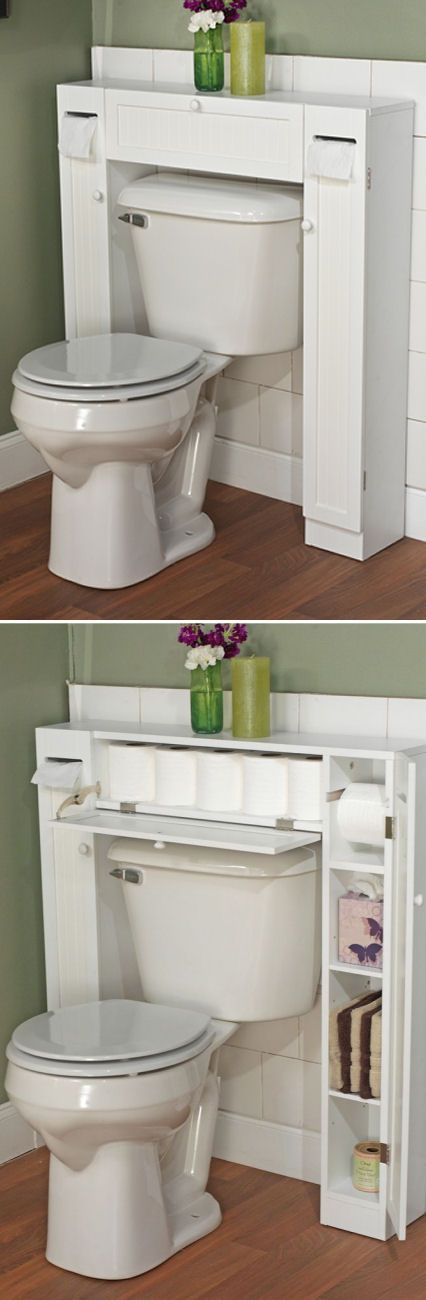 Toilets awesome and love this on pinterest for Space saving toilets small bathroom