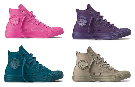 Conheça as novas cores do Chuck Taylor All Star:
