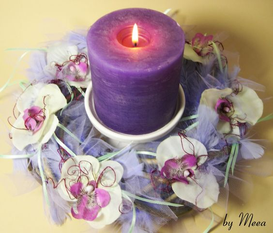 "Kranz ""Lilac Feather"""
