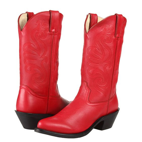 Womens Red Cowboy Boots Cheap - Boot 2017