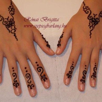 Henna tetoválás - Szépségbarlang - Budapest