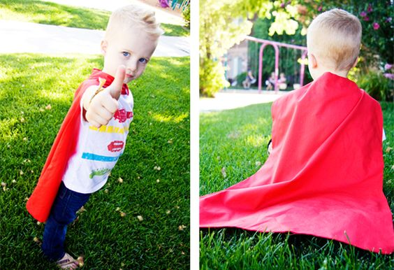 Super Hero Cape | How Does She...