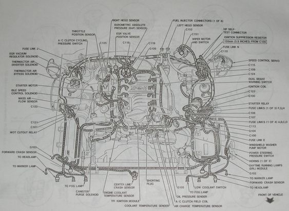 2000 Ford Windstar Engine Diagram 2007 Ford Mustang Mustang Engine Ford Windstar