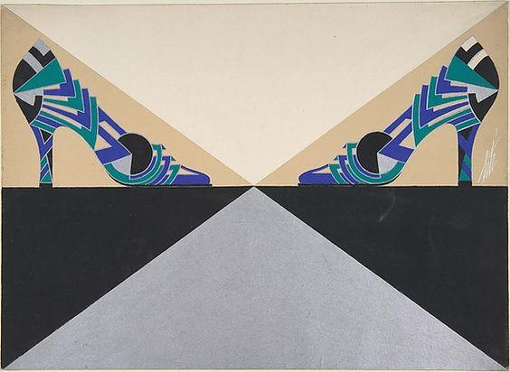 Erte Delman Illustrations Shown in Metropolitan Museum of Art Exhibit