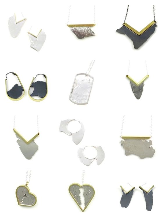 Seth Papac Jewelry Torn Line - Winter 2014/ Unique-USA