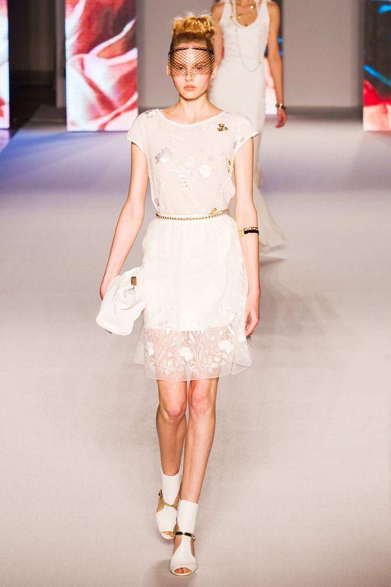#Aigner #2015 #Fashion #Show #ss2015 #mfw #Milan #Fashionweek via @TheCut